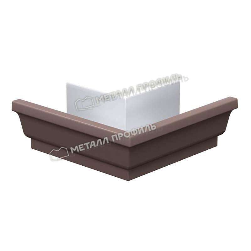 Угол желоба наружный 120х86 (ПЭ-01-8017-0.5) : купить в Иркутске по цене 350.00. Заходите в каталог компании «Металл Профиль»